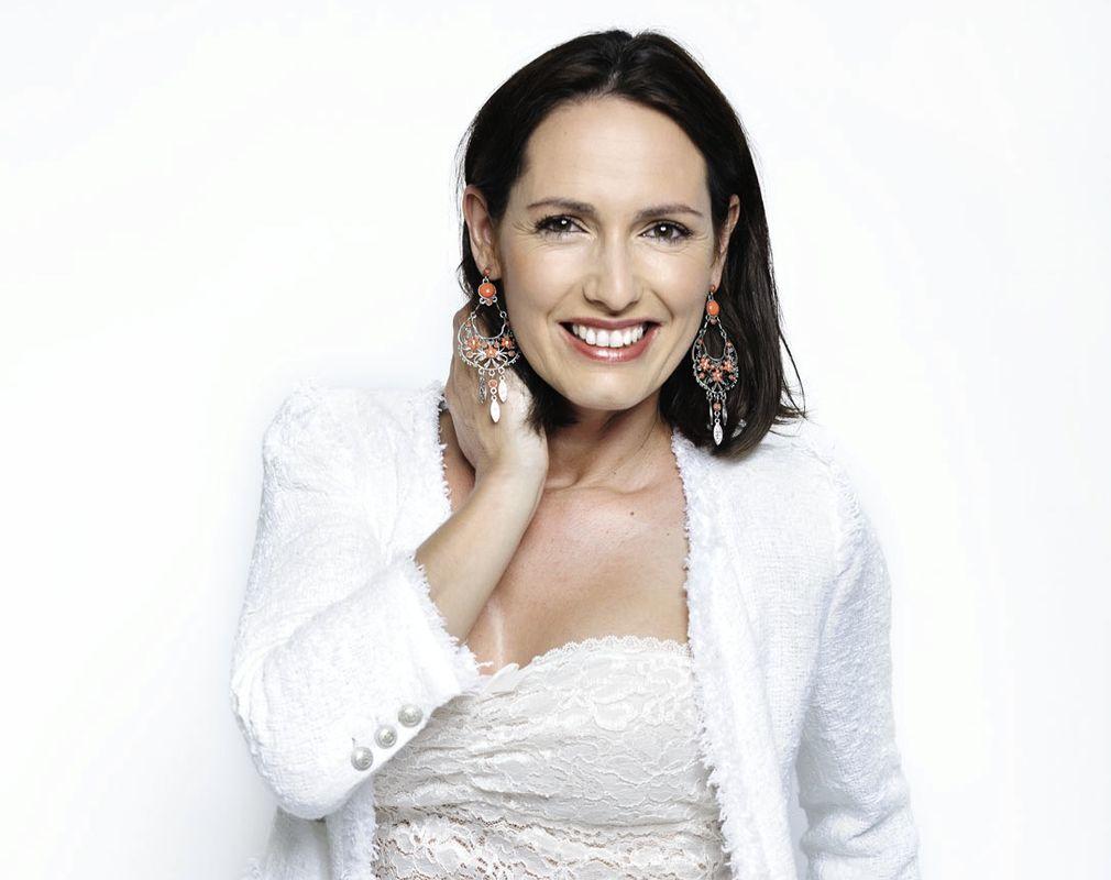 Actriz Fernanda Serrano Foto: Carlos Ramos