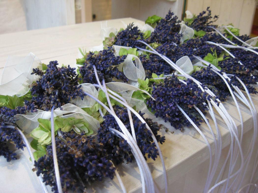 Beispiel: Hochzeitsfloristik, Foto: blumenwerkstatt frankfurt.
