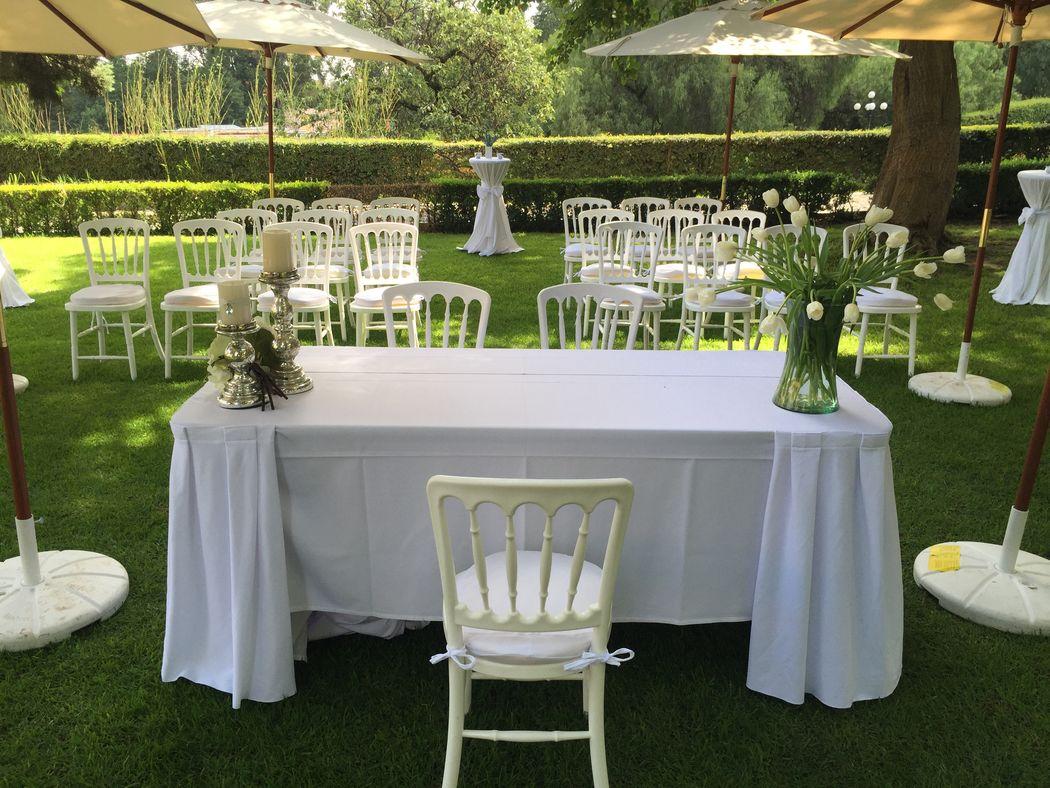 Ceremonia Civil en Jardín Fuente