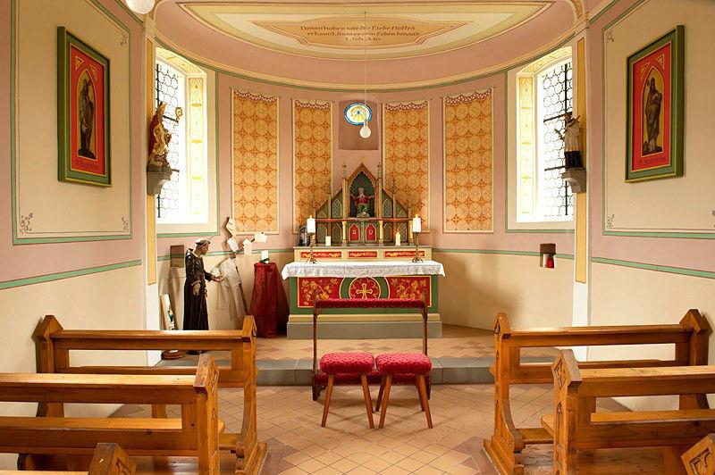 Beispiel: Kapelle, Foto: Hofgut Elchenreute.