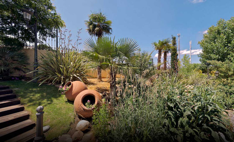 Vista de jardin