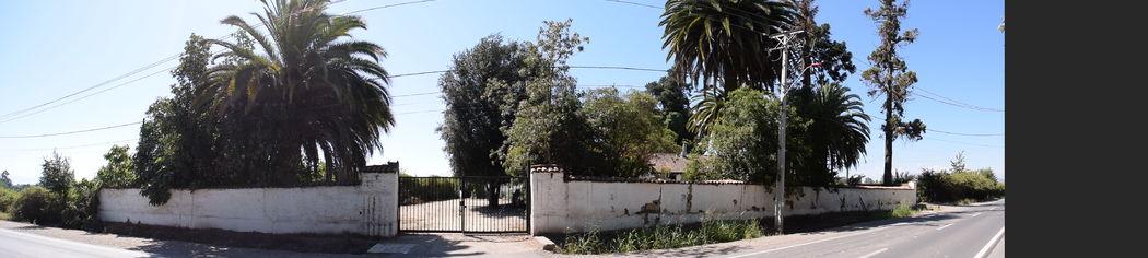 Fachada Hacienda Linderos, entrada principal.