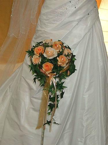 Beispiel: Hochzeitsfloristik, Foto: Gärtnerei Zobel.