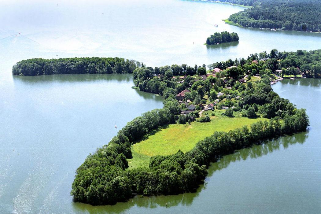 Beispiel: Luftansicht, Foto: Landhaus am See Alte Eichen.