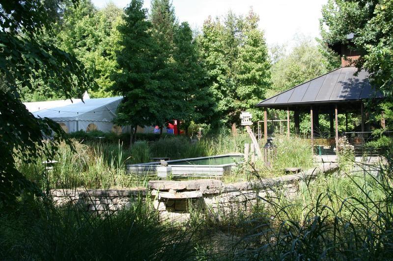 Beispiel: Zelt und Pavillon, Foto: Traumgarten Thalwil.
