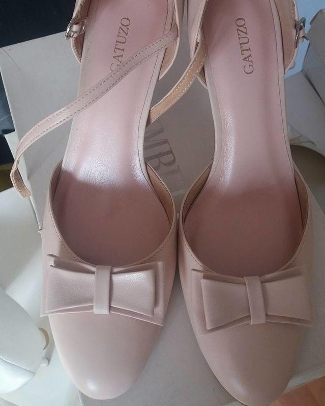 Gatuzo różowe buty ślubne
