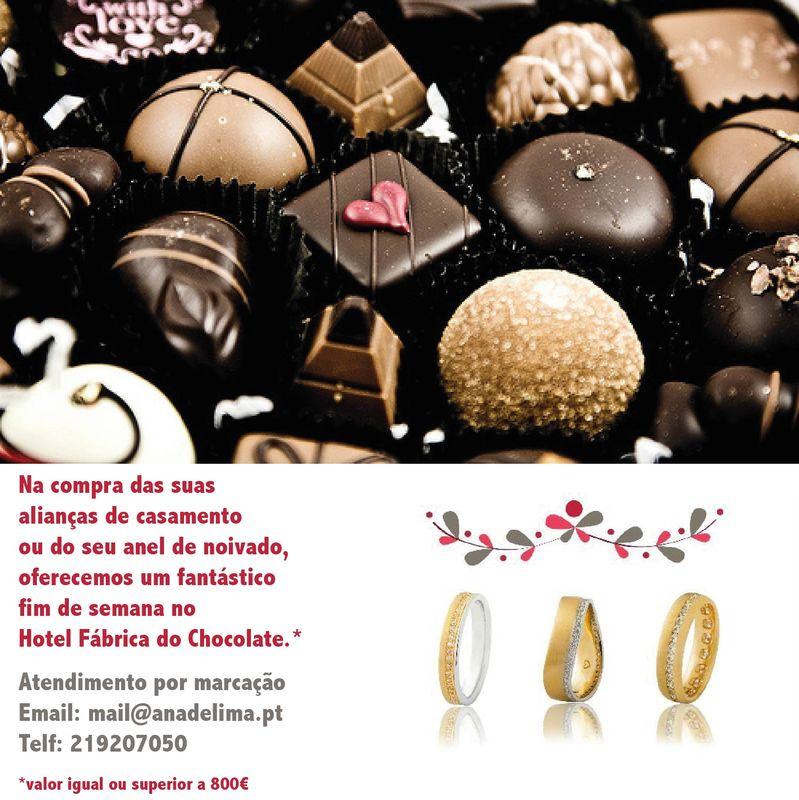 OFERTA da NOITE de NÚPCIAS  na Fábrica Hotel do Chocolate. Veja promoção.