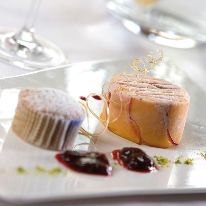 Beispiel: Kulinarische Genüsse, Foto: Grand Hotel Europa Innsbruck.
