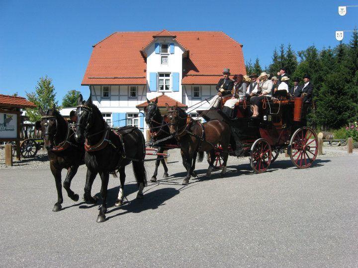 Beispiel: Postkutsche, Foto: Hofgut Elchenreute.