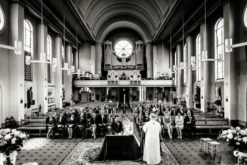 Beispiel: Fotos von der Trauung, Foto: Patrick Ludolph.