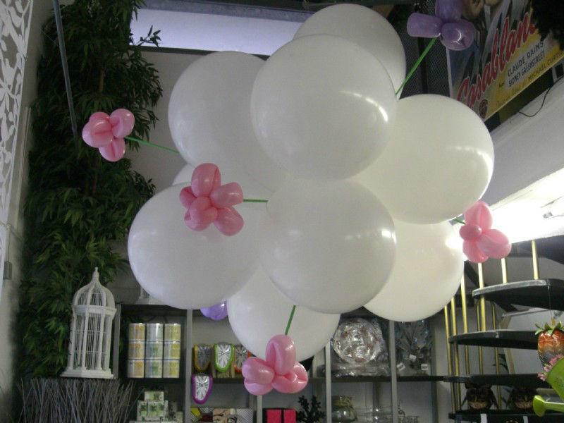 Beispiel: Ballons für Ihre Hochzeit, Foto: Paar Deco.