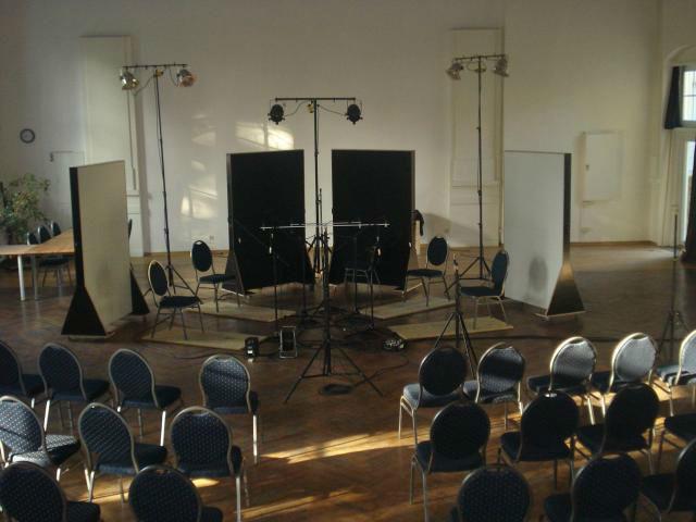 Beispiel: Tanzsaal - Innenansicht, Foto: Tanzsaal an der Panke.