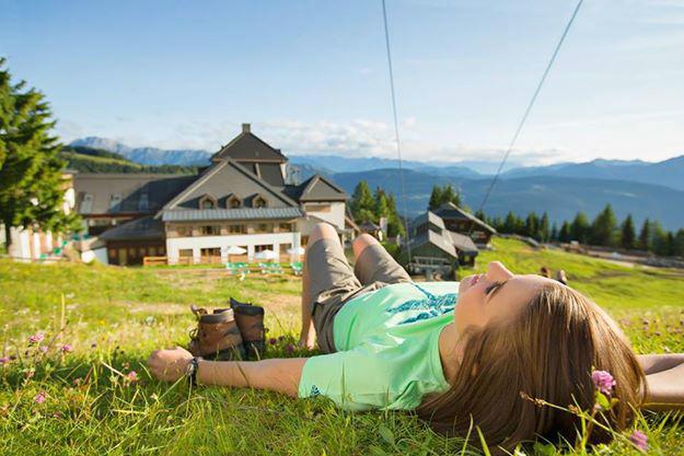 Beispiel: Kleine Pause in den Bergen, Foto: Robinson Club.