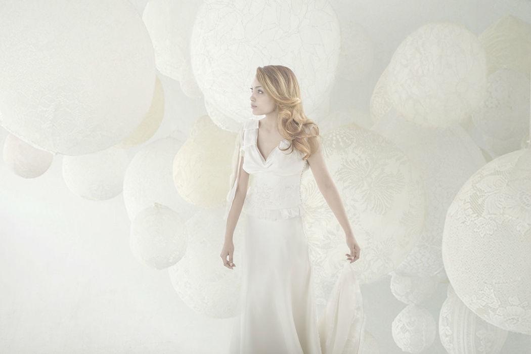 Beaumenay Joannet Paris - robe de mariée couture sur-mesure