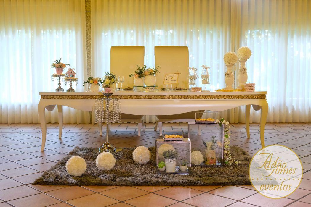 Mesa da presidência(noivos)