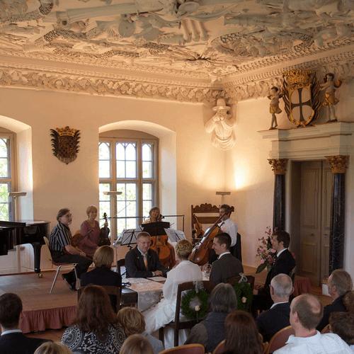 Beispiel: Trauung, Foto: Schloss Achberg.