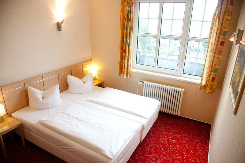 Beispiel: Doppelzimmer, Foto: Hotel Alte Feuerwache.
