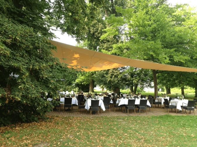 Beispiel: Schlosspark, Foto: Eventkirche Schloss Kröchlendorff.