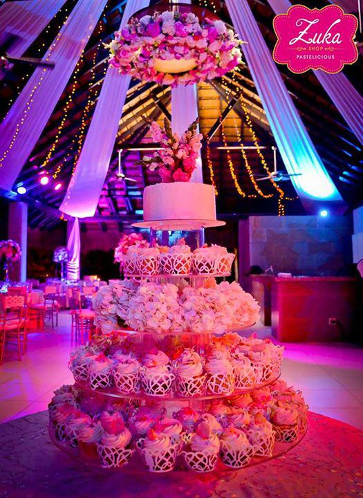 Torre de Cupcakes Gourmet - Boda