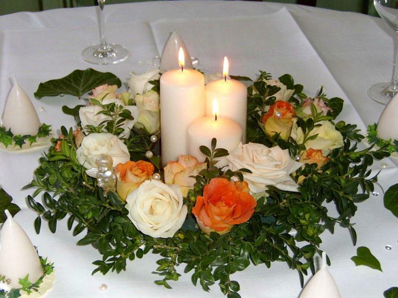 Beispiel: Traumhafte Dekoration Ihrer Hochzeit, Foto: Kreone.