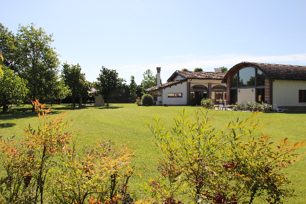 immagini del parco sul retro della villa - Villa Rosa
