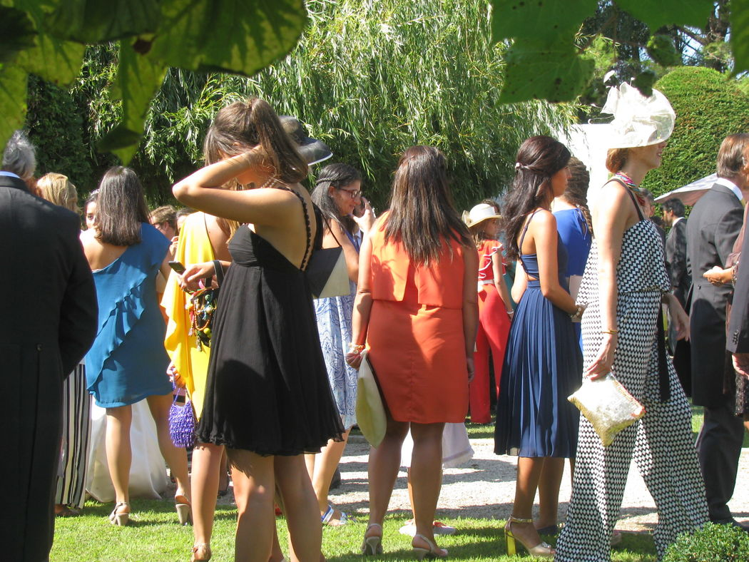 Welcome-Drinks nos Jardins
