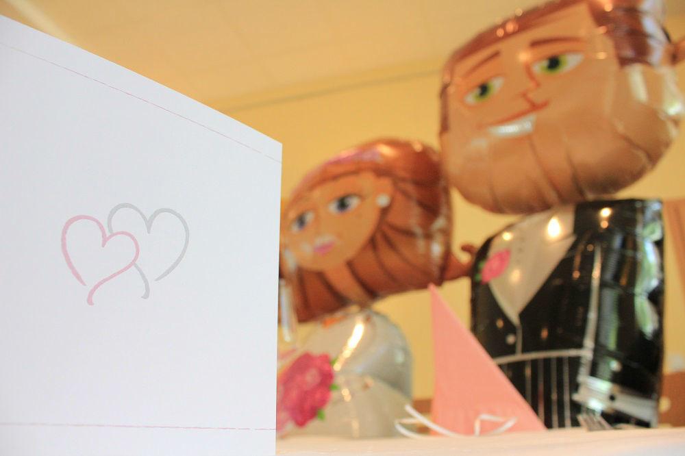 Beispiel: Hochzeitsdekoration, Foto: Restaurant Zur Tennisterrasse.