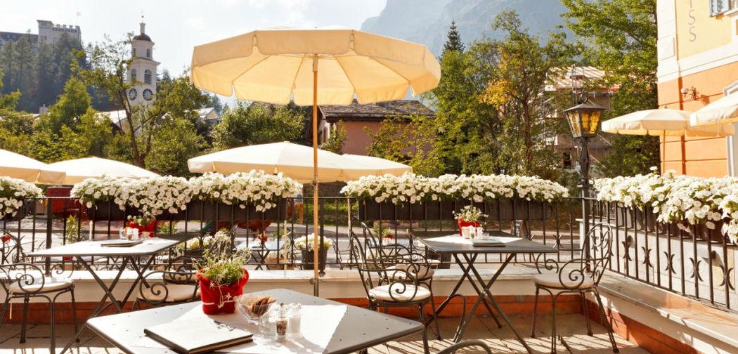 Beispiel: Terrasse, Foto: Hotel Edelweiss.