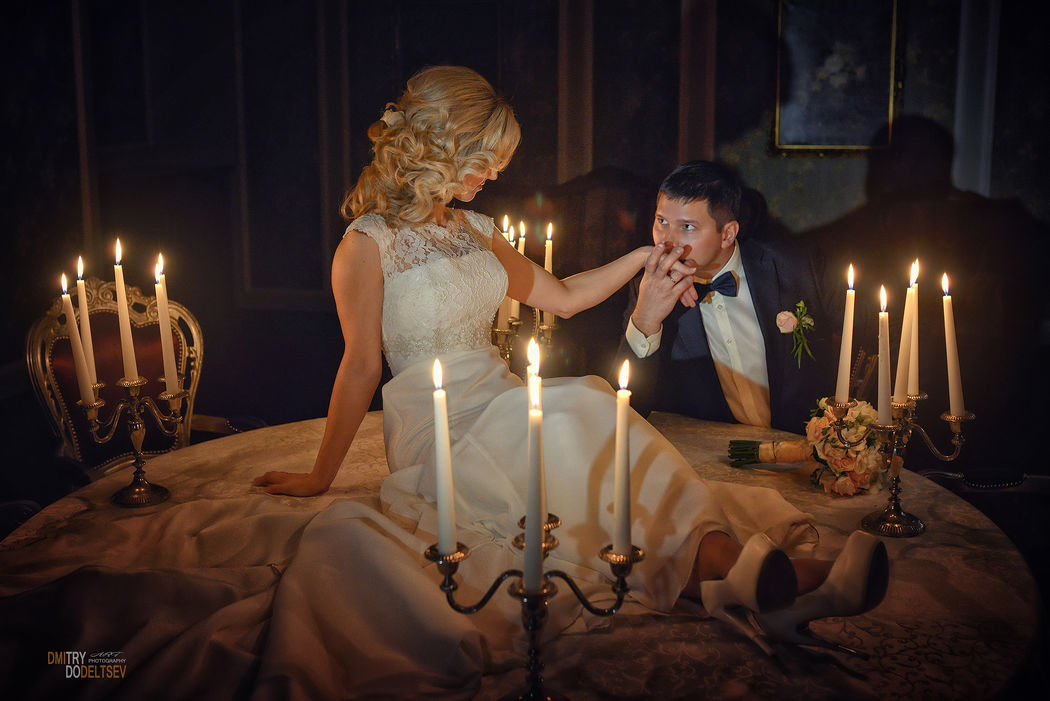 Ужин при свечах...