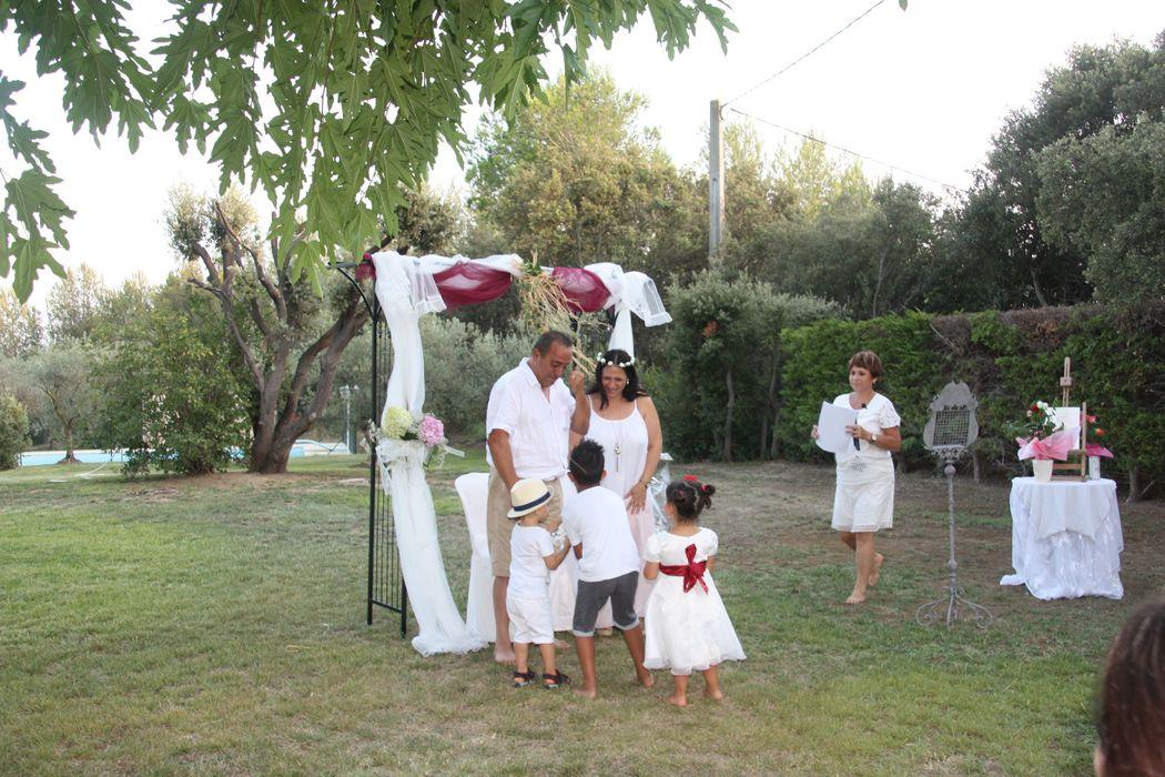 Pour renouvellement de voix, les petits enfants sont de la fête...