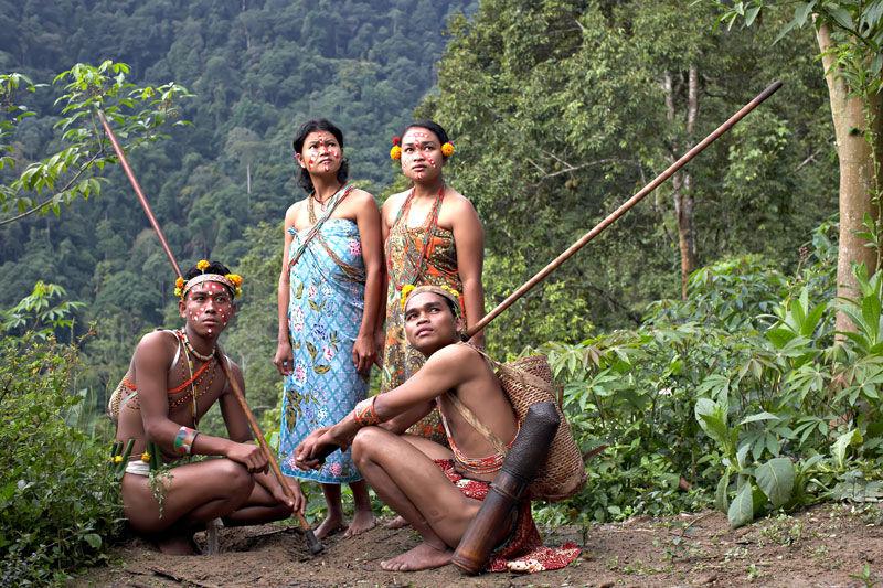 Malesia - Tribu Iban