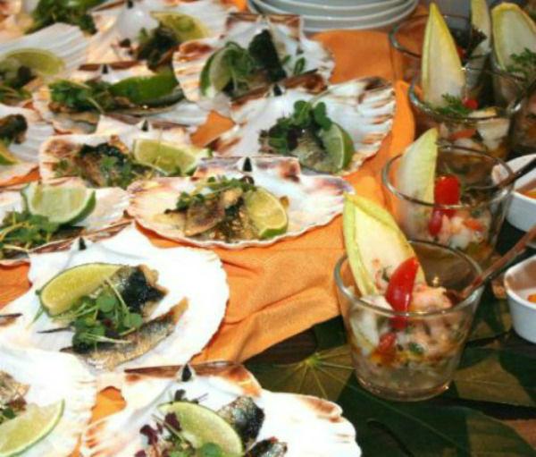 Beispiel: Fischgericht, Foto: Hoffmann Gastronomie & Catering.