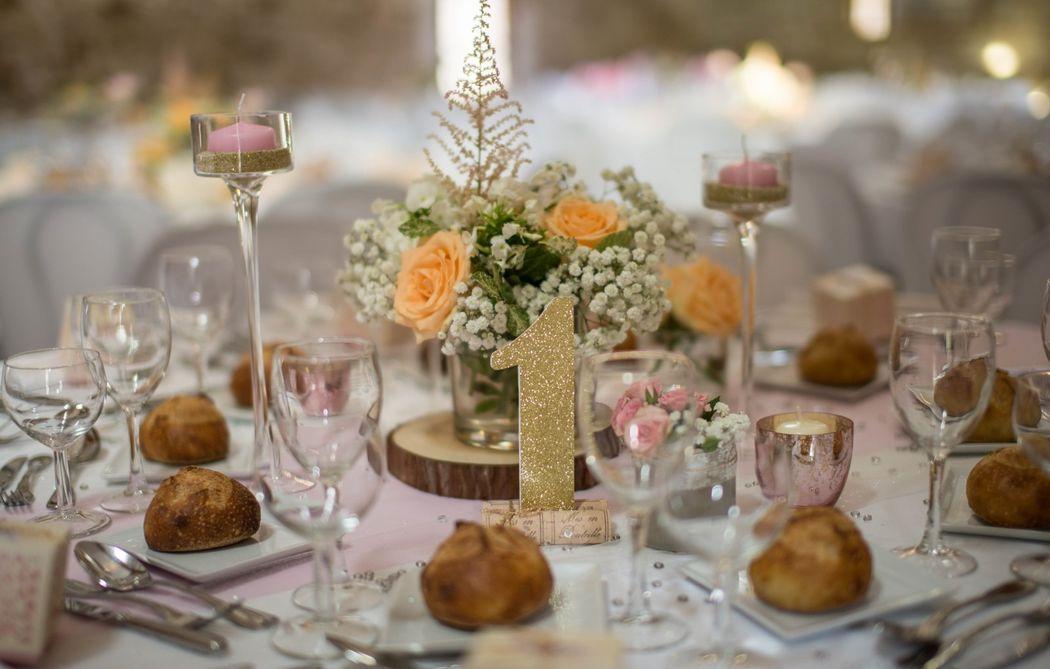 LLADY NANNY Mariages _ Décoration sur-mesure des Tables de réception
