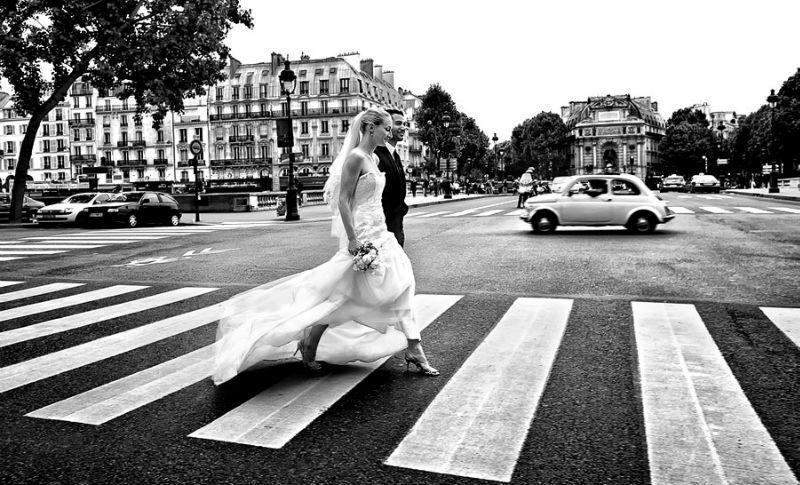 Beispiel: Ausgefallene Inszenierungen, Foto: raman weddings.