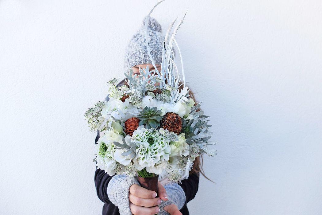Ramo invierno flowercap