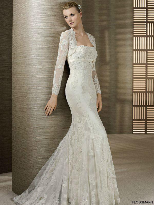 Beispiel: Wunderschöne Brautkleider, Foto: Brautsalon Flossmann.