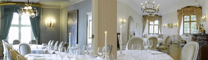 Beispiel: Hochzeitsgedeck, Foto: Schloss Binningen - Hotel im Schlosspark.