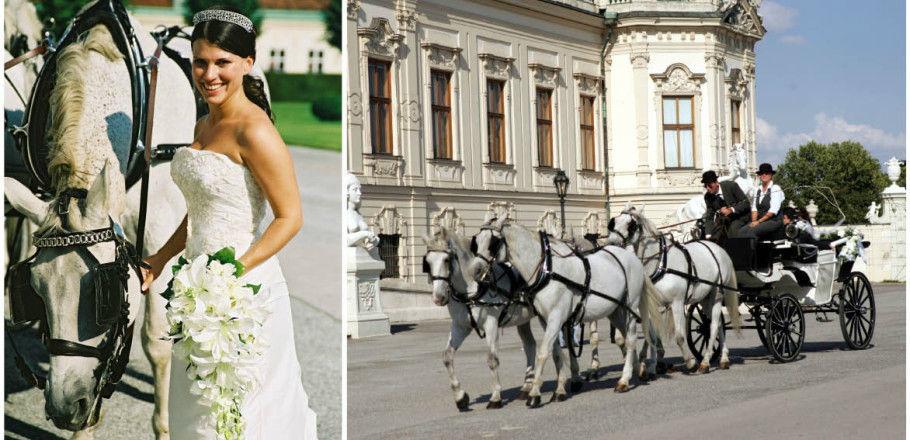 Beispiel: Kirchliche Trauung, Foto: Avorio Hochzeitsorganisation.