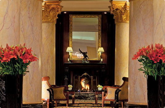 Beispiel: Kamin, Foto: The Ritz-Carlton.