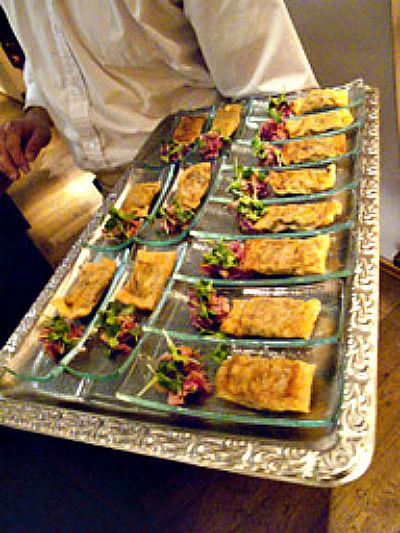 Beispiel: Speisen, Foto: Marktwirt Catering.