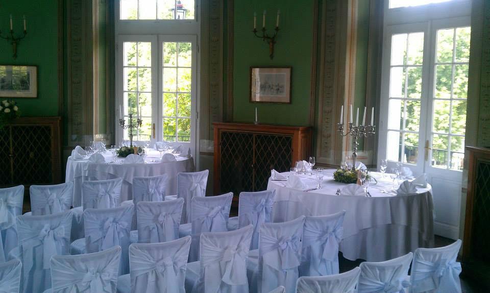 Beispiel: Trauung im Jagdsaal, Foto: Café-Restaurant Lusthaus.
