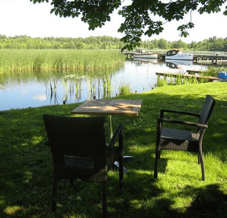 Beispiel: Seeidylle, Foto: Seelodge Kremmen.