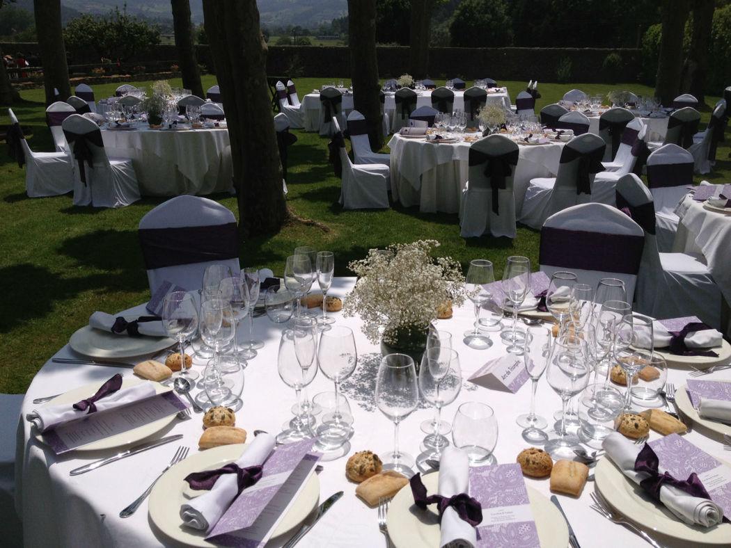 Banquete al aire libre