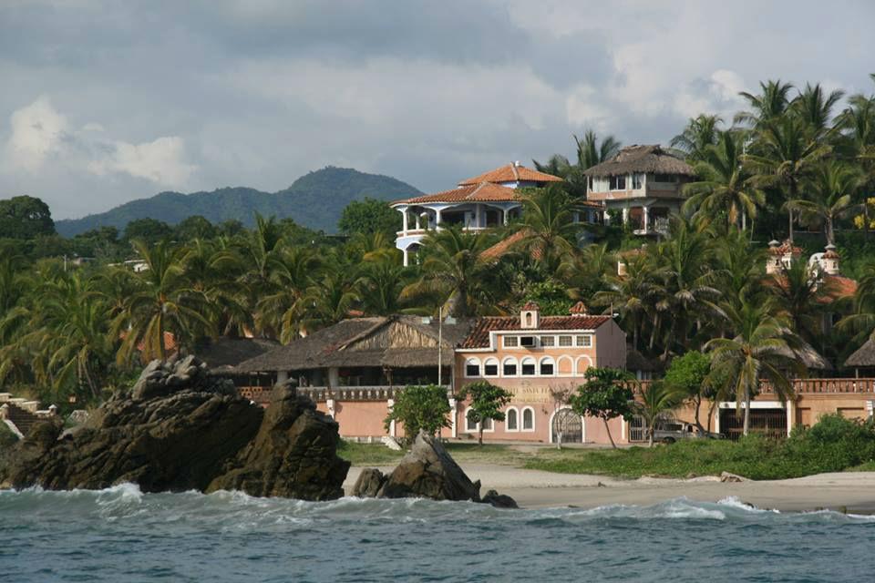 Hotel Santa Fe en Puerto Escondido