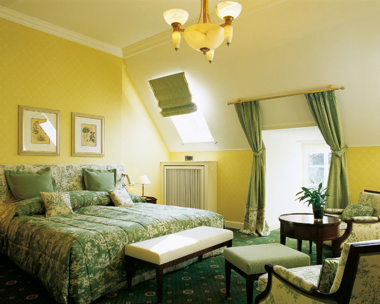 Beispiel: Familliensuite, Foto: Villa Rothschild.