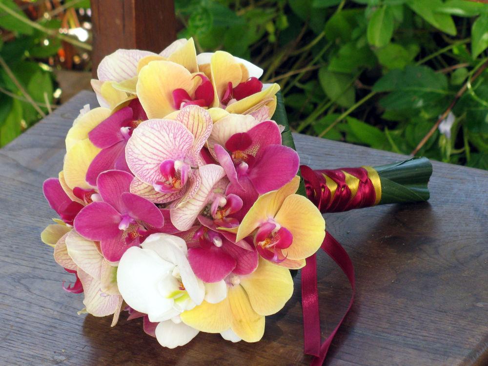Bouquet de Noiva phalaenopsis