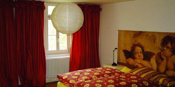 Beispiel: Hotelzimmer, Foto: Künkele Mühle.