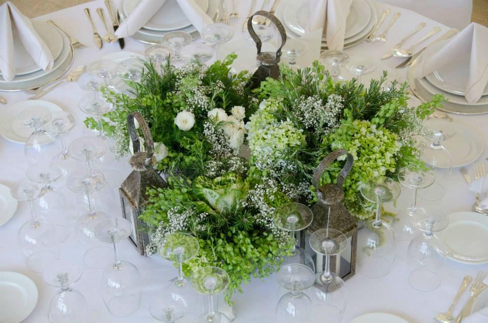 Ambientación y arreglos florales - Foto Martha Sophia