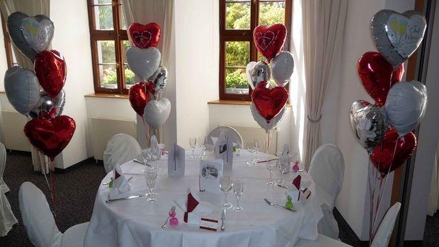 Beispiel: Hochzeitsdekoration, Foto: BallonIdee.