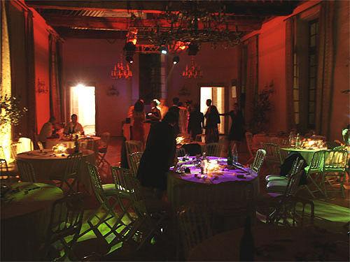 Salons Richelieu (Salle du Psdt du Conseil) 200 m2 lors d'une soirée dansante.
